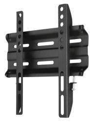 Кронштейн для телевизора Hama H-118106 черный 19 -48 макс.25кг настенный фиксированный