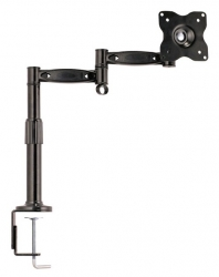 Кронштейн для мониторов ЖК Kromax OFFICE-2 серый 15 -32 макс.10кг настольный поворот и наклон