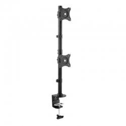 Кронштейн для мониторов Arm Media LCD-T43 черный 15 -32 макс.20кг настольный поворот и наклон верт.перемещ.