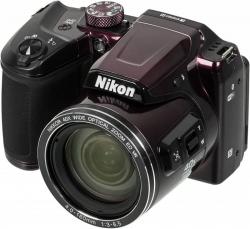 Фотоаппарат Nikon CoolPix B500 фиолетовый 16Mpix Zoom40x 3