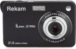 Фотоаппарат Rekam iLook S990i черный 21Mpix 2.7