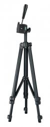 Штатив Hama Star 125-3D напольный черный алюминий (620гр.)