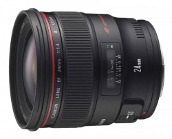 Объектив Canon EF II USM (2750B005) 24мм f/1.4