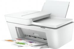 МФУ струйный HP DeskJet Plus 4120 (3XV14B) белый