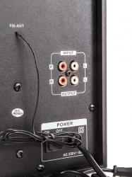 Минисистема Supra SMB-310 черный 60Вт/FM/USB/BT/SD