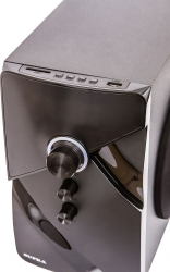 Минисистема Supra SMB-290 черный 60Вт/FM/USB/BT/SD