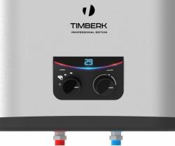 Водонагреватель Timberk SWH FSM7 80 V 2.5кВт 80л электрический настенный/серебристый