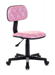 Кресло детское Бюрократ CH-201NX розовый сердца Hearts-Pk крестовина пластик