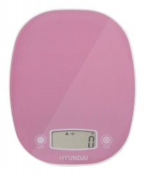 Весы кухонные электронные Hyundai HYS-KA521 макс.вес:5кг фиолетовый