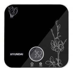 Весы кухонные электронные Hyundai HYS-KG421 черный