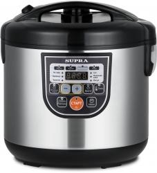 Мультиварка Supra MCS-5114 серебристый/черный