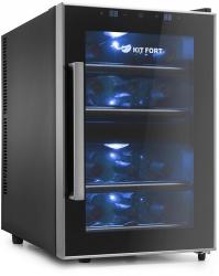 Винный шкаф Kitfort КТ-2405 черный (двухкамерный)