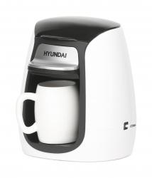 Кофеварка капельная Hyundai HYD-0102 белый
