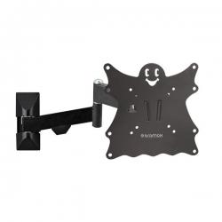 Кронштейн для телевизора Kromax Casper-204 черный 15 -40 макс.30кг настенный поворот и наклон