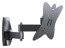 Кронштейн для телевизора Holder LCDS-5038 металлик 20 -37 макс.30кг настенный поворот и наклон