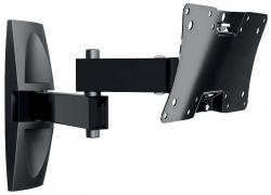 Кронштейн для телевизора Holder LCDS-5064 черный 12 -32 макс.30кг настенный поворот и наклон