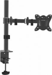 Кронштейн для мониторов Arm Media LCD-T12 черный 15 -32 макс.12кг настольный поворот и наклон верт.перемещ.