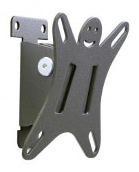 Кронштейн для телевизора Holder LCDS-5002 металлик 10 -26 макс.25кг настенный наклон