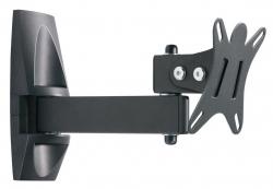 Кронштейн для телевизора Holder LCDS-5004 металлик 10 -26 макс.25кг настенный поворот и наклон