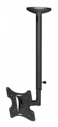 Кронштейн для телевизора Arm Media LCD-1000 черный 10 -37 макс.30кг потолочный поворот и наклон