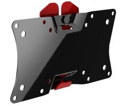 Кронштейн для телевизора Holder LCDS-5060 черный глянец 19 -32 макс.30кг настенный фиксированный
