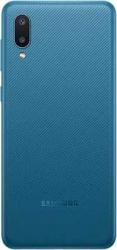 Смартфон Samsung SM-A022 Galaxy A02 32Gb 2Gb синий моноблок 3G 4G 6.5