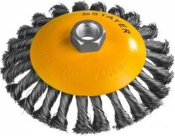 Щетка дисковая по мет. Stayer 35135-125 d=125мм (угловые шлифмашины)