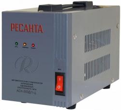 Стабилизатор напряжения Ресанта АСН-500Д/1-Ц электронный однофазный серый