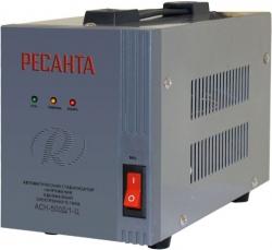 Стабилизатор напряжения Ресанта АСН-1000Д/1-Ц электронный однофазный серый