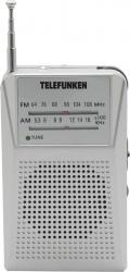 Радиоприемник карманный Telefunken TF-1641 серебристый