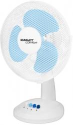 Вентилятор настольный Scarlett SC-DF111S07 белый