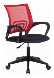 Кресло Бюрократ CH-695NLT красный TW-35N сиденье черный TW-11 сетка/ткань крестовина пластик
