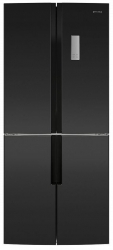 Холодильник Maunfeld MFF182NFSB черный