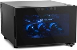 Винный шкаф Kitfort КТ-2403 черный (однокамерный)