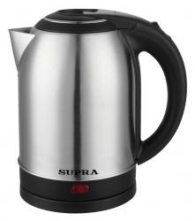 Чайник электрический Supra KES-2001 серебристый/черный