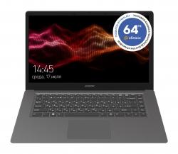 Ноутбук Digma EVE 15 C413 Celeron N3350/4Gb/SSD64Gb/Intel HD Graphics 500/15.6