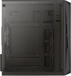 Корпус Aerocool CS-107-A-BK-v2 черный без БП mATX 1xUSB2.0 1xUSB3.0 audio