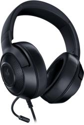 Наушники с микрофоном Razer Kraken X Lite черный 1.3м мониторные оголовье RZ04-02950100-R381