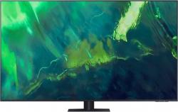 Телевизор QLED Samsung QE55Q70AAUXRU Q темно-серый