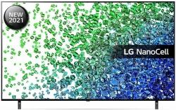 Телевизор LED LG 55NANO806PA черный