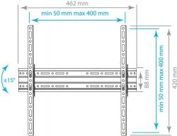 Кронштейн для телевизора Arm Media PLASMA-4 new черный 22