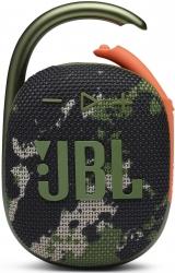 Колонка порт. JBL Clip 4 камуфляж 5W 1.0 BT 15м 500mAh (JBLCLIP4SQUAD)