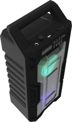 Колонка порт. Ritmix SP-830B черный 20W 2.0 BT/3.5Jack/USB 10м 1800mAh (80000895)
