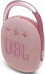 Колонка порт. JBL Clip 4 розовый 5W 1.0 BT 15м 500mAh (JBLCLIP4PINK)