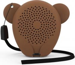 Колонка порт. Hiper Zoo Music Мартышка коричневый 3W 1.0 BT 10м 400mAh (без.бат) (H-OZ7)