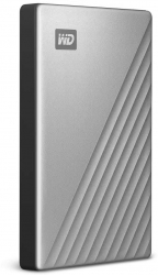 Жесткий диск WD Original USB-C 1Tb WDBC3C0010BSL-WESN My Passport Ultra 2.5