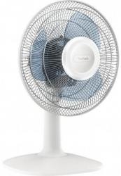 Вентилятор настольный Tefal VF2310F0 28Вт скоростей:2 белый/голубой