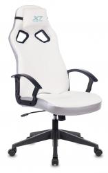 Кресло игровое A4Tech X7 GG-1000W белый искусственная кожа крестовина пластик