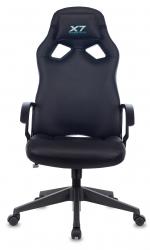 Кресло игровое A4Tech X7 GG-1000B черный искусственная кожа крестовина пластик
