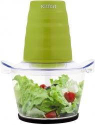 Измельчитель электрический Kitfort КТ-3017-2 салатовый
